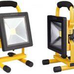 LED式の投光器(充電タイプ)