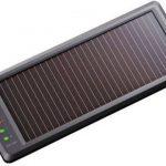 太陽光を利用したバッテリー充電器